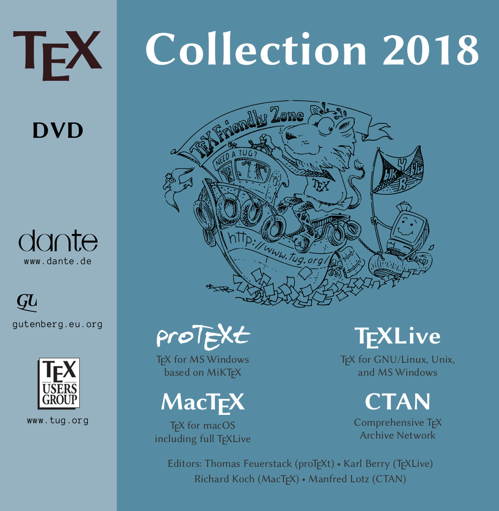 TeX Collection 2018