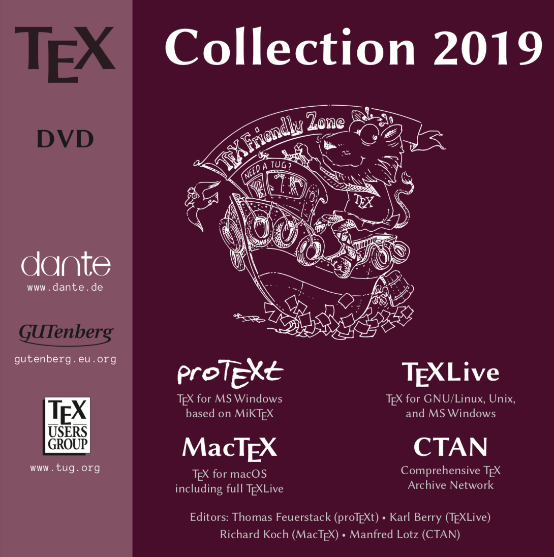 TeX Collection 2019