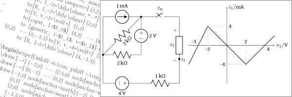 circuit diagram in latex ctan package circuitikz  ctan package circuitikz